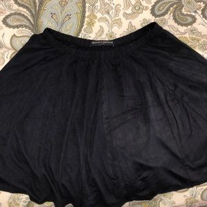 brandy melville suede skirt one size